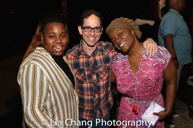 Alex Newell, Garth Kravits, Kenita R. Miller. Photo by Lia Chang