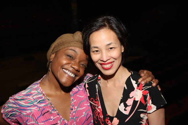 Kenita R. Miller and Lia Chang. Photo by Garth Kravits