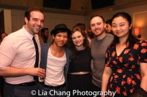 Ben Schraeger, Tony Aidan Vo, Anna Flowers, Ali Andre Ali, Ran Xia. Photo by Lia Chang