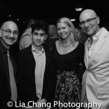Ned Eisenberg, Lino Eisendberg, Liv Rooth, Jordan Lage. Photo by Lia Chang