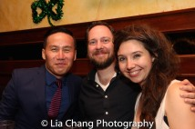 BD Wong, Moritz von Stuelpnagel and Tilly Grimes. Photo by Lia Chang