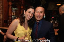 Leanne Rebecca Sinsky and BD Wong. Photo by Lia Chang