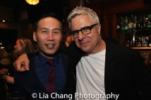 BD Wong and Neil Pepe. Photo by Lia Chang