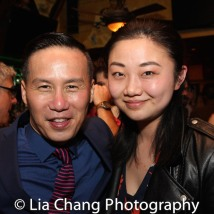 BD Wong and Ran Xia. Photo by Lia Chang