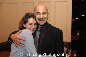 Patricia and Ned Eisenberg. Photo by Lia Chang