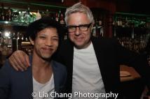 Tony Aidan Vo and Neil Pepe. Photo by Lia Chang