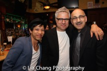 Tony Aidan Vo, Neil Pepe and Ned Eisenberg. Photo by Lia Chang
