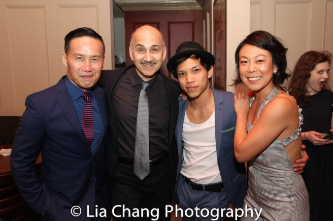 BD Wong, Ned Eisenberg, Tony Aidan Vo and Ali Ahn. Photo by Lia Chang
