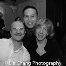 Richert Schnorr, BD Wong and Lisa Loosemore. Photo by Lia Chang