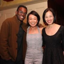 William Jackson Harper, Ali Ahn and Lia Chang. Photo by Tony Aidan Vo