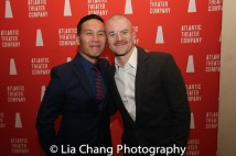 BD Wong and Richert Schnorr. Photo by Lia Chang