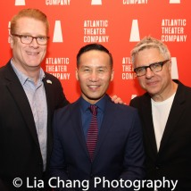 Jeffory Lawson, BD Wong and Neil Pepe. Photo by Lia Chang