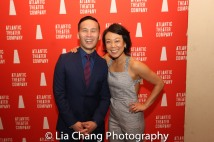 BD Wong and Ali Ahn. Photo by Lia Chang