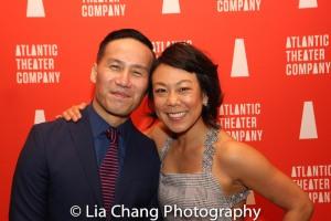 BD Wong and Ali Ahn. Photo by Lia Chang