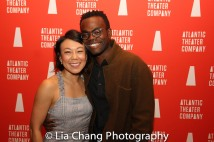 Ali Ahn and William Jackson Harper. Photo by Lia Chang