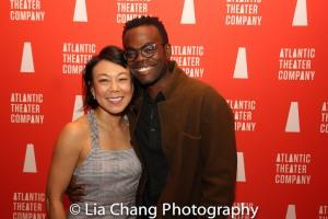 Ali Ahn and William Jackson Harper. Photo by Lia Chang