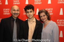 Ned Eisenberg, Lino Eisenberg and Patricia Eisenberg. Photo by Lia Chang