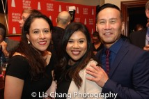 Taibi Magar, Joy Lanceta Coronel, BD Wong. Photo by Lia Chang