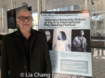Playwright N. Riantiarno. Photo by Lia Chang