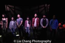 Jorja Brown, Aaron L. Morishita, Karl Josef Co, Megan Masako Haley, Kim Fischer, Sevan Greene, Frank Licari. Photo by Lia Chang