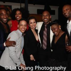 Anthony Wayne, Aurelia Williams, Tyler Hardwick, Lea Salonga, Alvin Hough Jr., Kenita Miller, Justin HIcks. Photo by Lia Chang