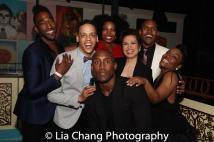 Anthony Wayne, Tyler Hardwick, Aurelia Willams, Quentin Earl Darrington, Lea Salonga, Alivin Hough, Jr., Kenita R. Miller. Photo by Lia Chang