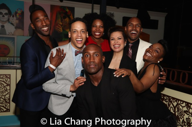 Anthony Wayne, Tyler Hardwick, Aurelia Willams, Quentin Earl Darrington, Lea Salonga, Alivin Hough, Jr., Kenita R. Miller. Photo by Lia Chang