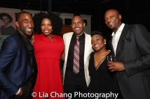 Anthony Wayne, Aurelia Williams, Alvin Hough Jr., Kenita Miller, Justin Hicks. Photo by Lia Chang
