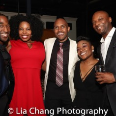 Anthony Wayne, Aurelia Williams, Alvin Hough Jr., Kenita Miller, Justin Hicks. Photo by Lia Chang