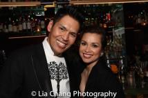 Clint Ramos and Lea Salonga. Photo by Lia Chang