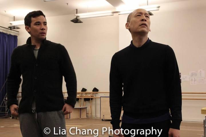 Conrad Ricamora and Francis Jue. Photo by Lia Chang