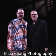 Director Ed Sylvanus Iskandar and Playwright N. Riantiarno. Photo by Lia Chang