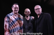 Director Ed Sylvanus Iskandar, Music Director Enrico de Trizio, Playwright N. Riantiarno. Photo by Lia Chang