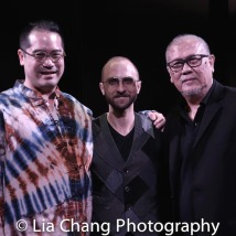 Director Ed Sylvanus Iskandar, Music Director Enrico de Trizio, Playwright N. Riantiarno. Photo by Lia Chang