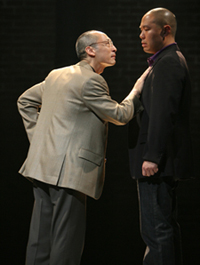 Francis Jue and Hoon Lee in YELLOW FACE. Photo Credit: Joan Marcus