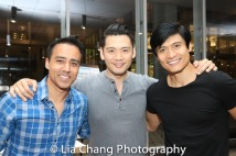 Frank Licari, Karl Josef Co and Paolo Montalban. Photo by Lia Chang