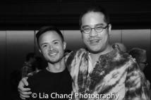 Jeffrey Omura, Ed Sylvanus Iskandar. Photo by Lia Chang