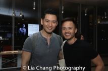 Karl Josef Co and Jeffrey Omura. Photo by Lia Chang
