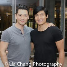 Karl Josef Co and Paolo Montalban. Photo by Lia Chang