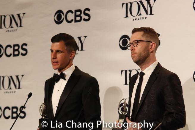 Ken Davenport and Hunter Arnold. Photo by Lia Chang