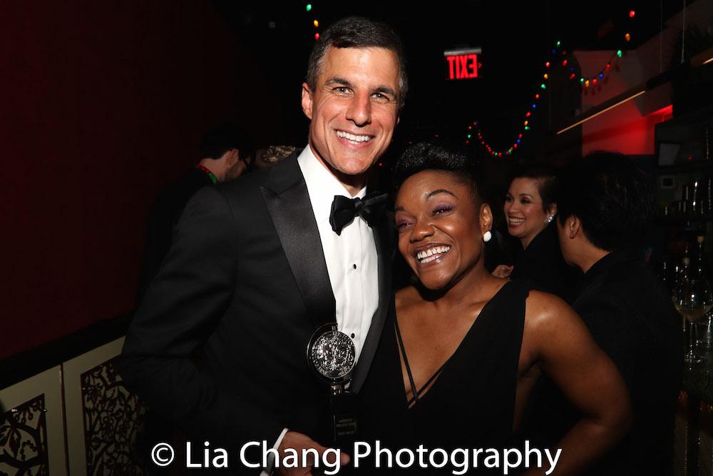 Ken Davenport and Kenita Miller. Photo by Lia Chang