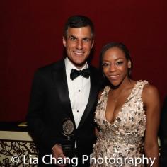 Ken Davenport and Nikki M. James. Photo by Lia Chang