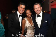 Producer Ken Davenport, Assistant Director Nikki M. James and Director Michael Arden. Photo by Lia Chang
