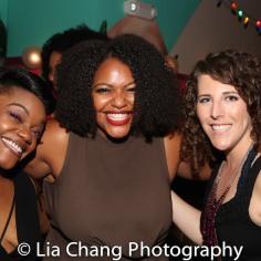 Kenita R. Miller, Ambe Williams and Rachel Tuggle Whorton. Photo by Lia Chang