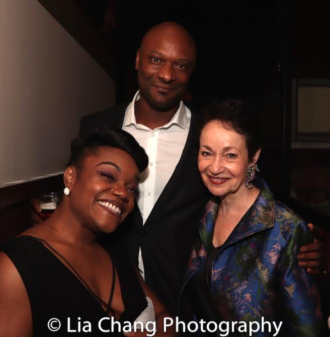 Kenita R. Miller, Justin Hicks, Lynn Ahrens. Photo by Lia Chang