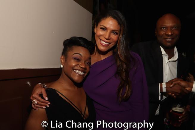 Kenita R. Miller, Merle Dandridge and Justin Hicks. Photo by Lia Chang