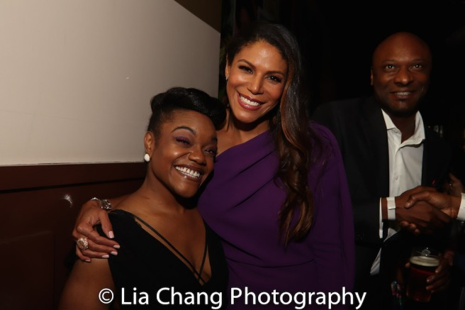 Kenita R. Miller, Merle Dandridge and Justin Hicks. Photo by Lia Chang