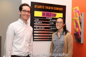 Zachary Zwillinger and his wife Lauren Yee. Photo by Lia Chang