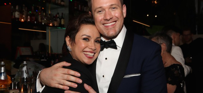 Lea Salonga and Director Michael Arden. Photo by Lia Chang