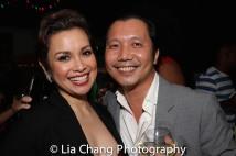 Lea Salonga and Victor Lirio. Photo by Lia Chang